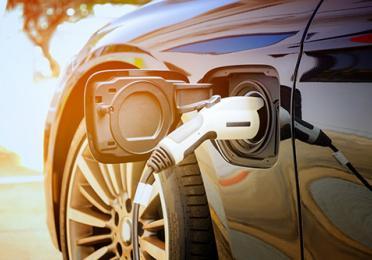 EV charger plug