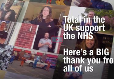 TOTAL in the UK Supports the NHS