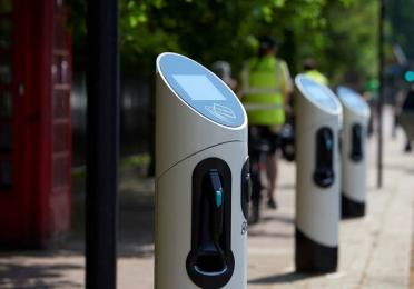 EV charge points in London