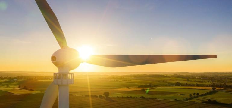 Renewable energy from wind turbines